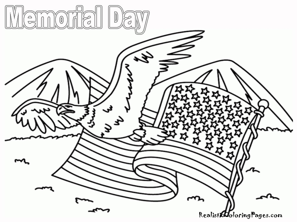 memorial day coloring pages printable - memorial day coloring pages