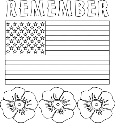 memorial day coloring pages printable - memorial day printables and coloring