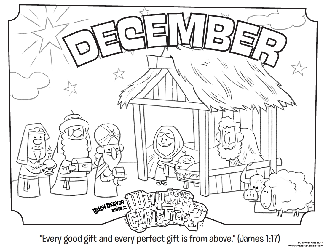 menorah coloring page - december coloring page james 117