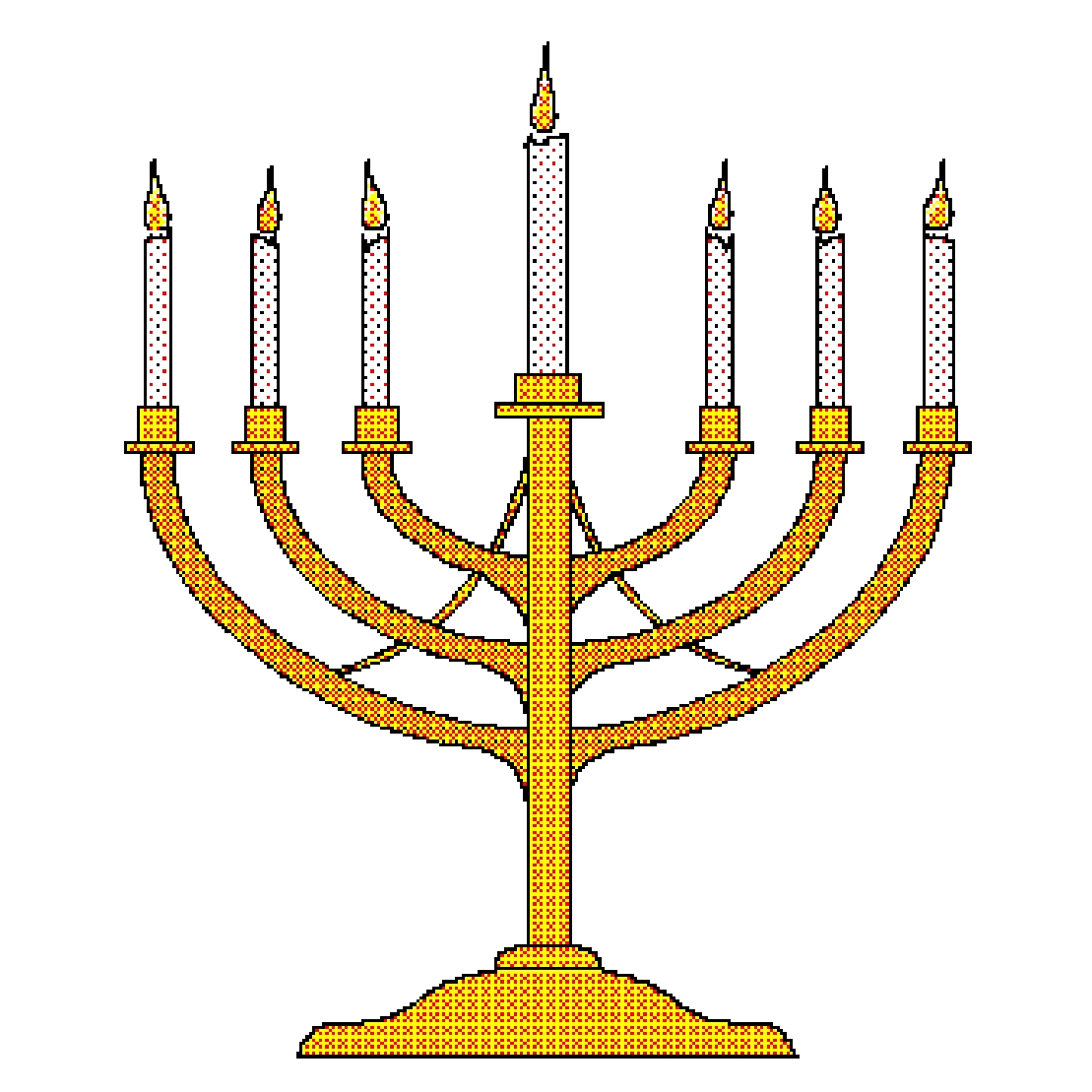 menorah coloring page - menorah photos