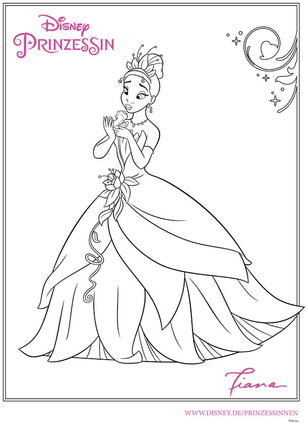 Merida Coloring Pages - Disney