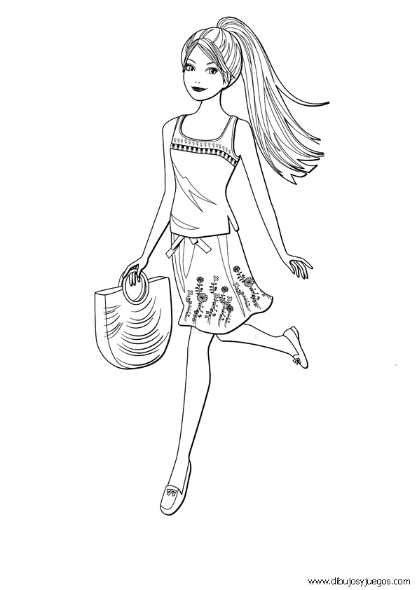 mermaid tail coloring page - 667