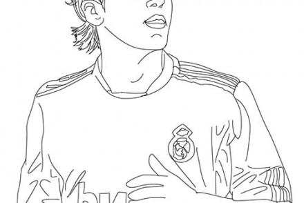Messi Coloring Pages - Coloriage Football à Imprimer