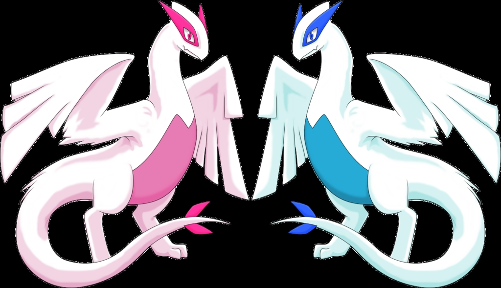 mew coloring pages - shiny lugia pokemon images