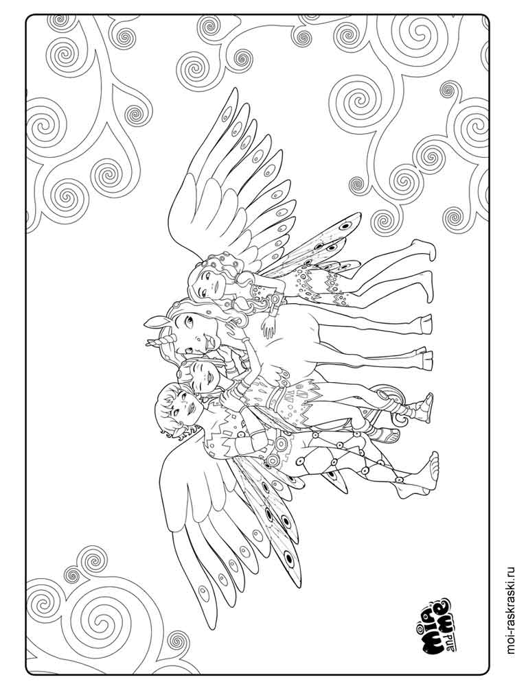 28 Mia And Me Coloring Pages Compilation Free Coloring Pages Part 2