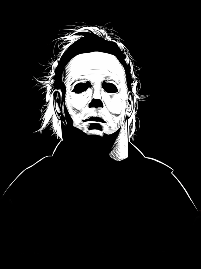 michael myers coloring pages - iPad Michael Myers