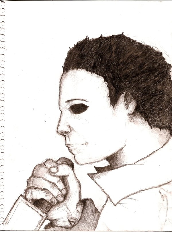 michael myers coloring pages - Michael Myers 4