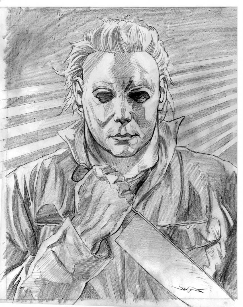 michael myers coloring pages - on sale jason edmistons trio of villains