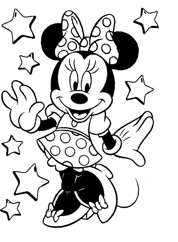 mickey coloring pages -