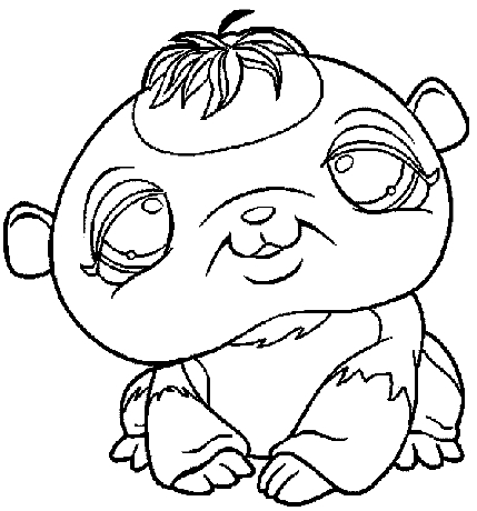 mickey coloring pages - 53 littlest petshop
