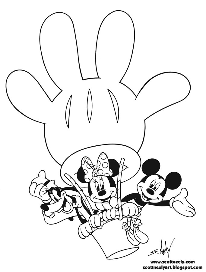 mickey mouse clubhouse coloring pages - mickey mouse clubhouse printable coloring pages
