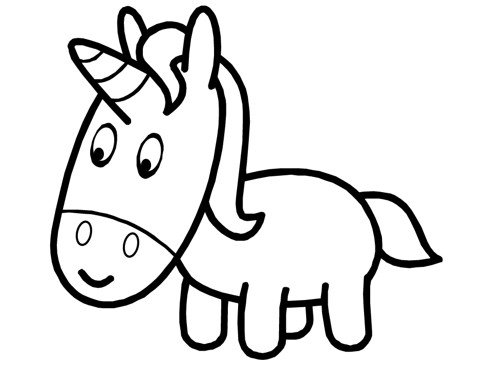 mickey mouse printable coloring pages - unicorn cartoon coloring pages