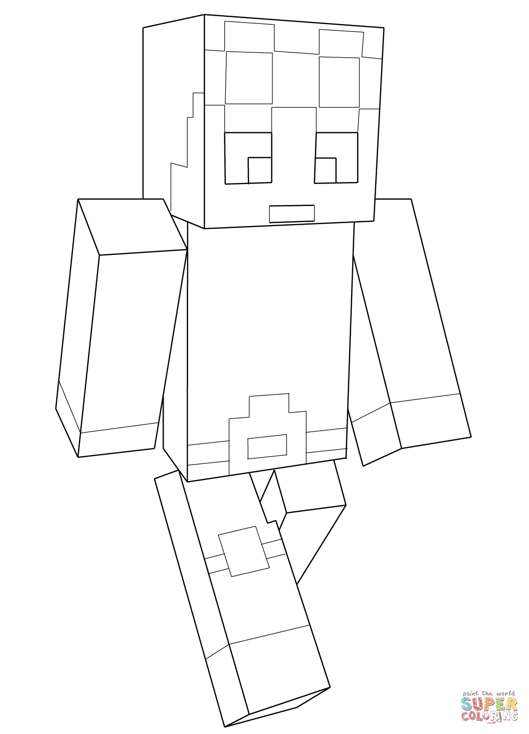 Minecraft Ausmalbilder Herobrine : 25 Minecraft Coloring Pages Compilation Free Coloring Pages Part 3