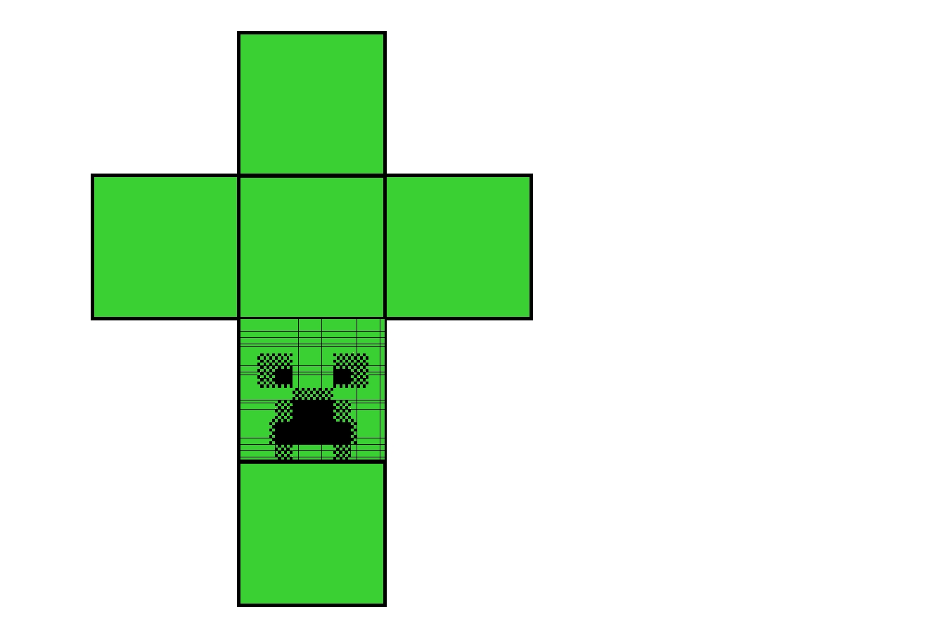 Minecraft Creeper Coloring Page - Creeper Coloring Page Free