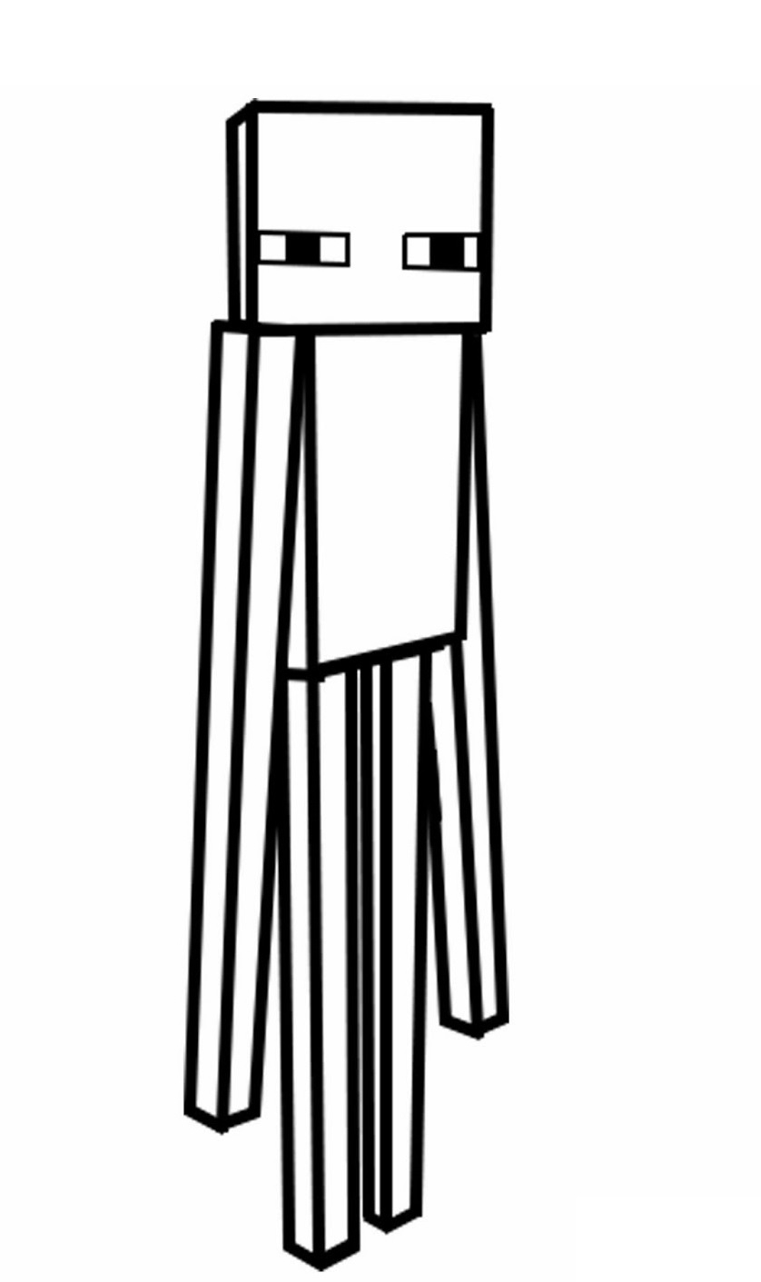 minecraft creeper coloring page - q=steve and creeper