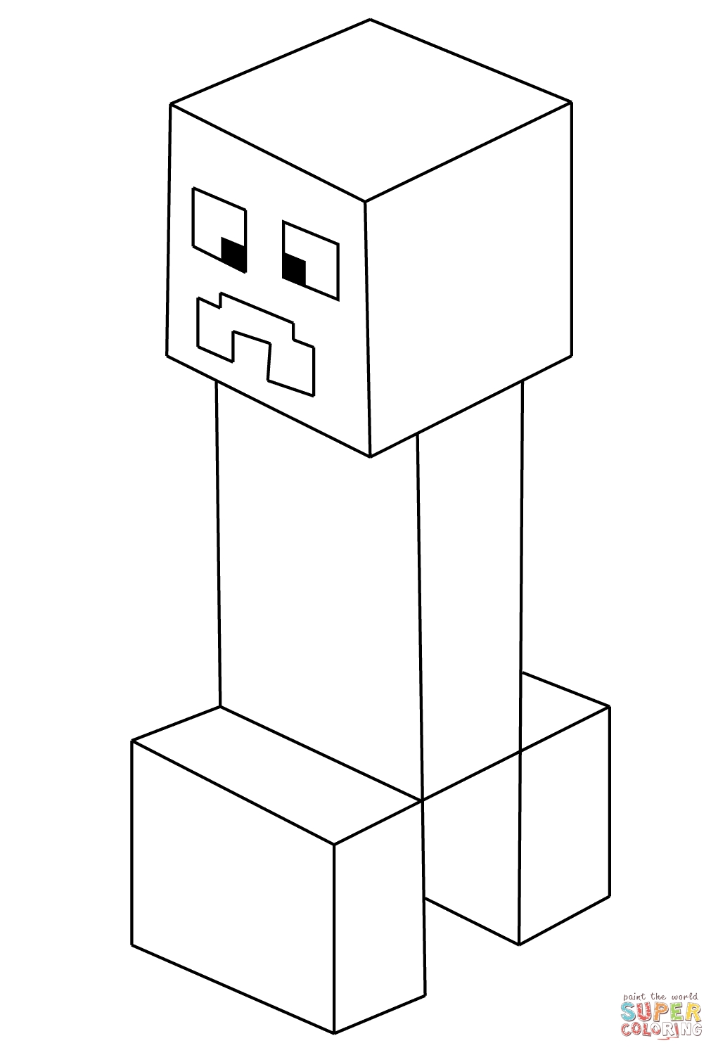 minecraft creeper coloring page - shipmag ar wp content themes twentyten moshi monsters colouring pages 675