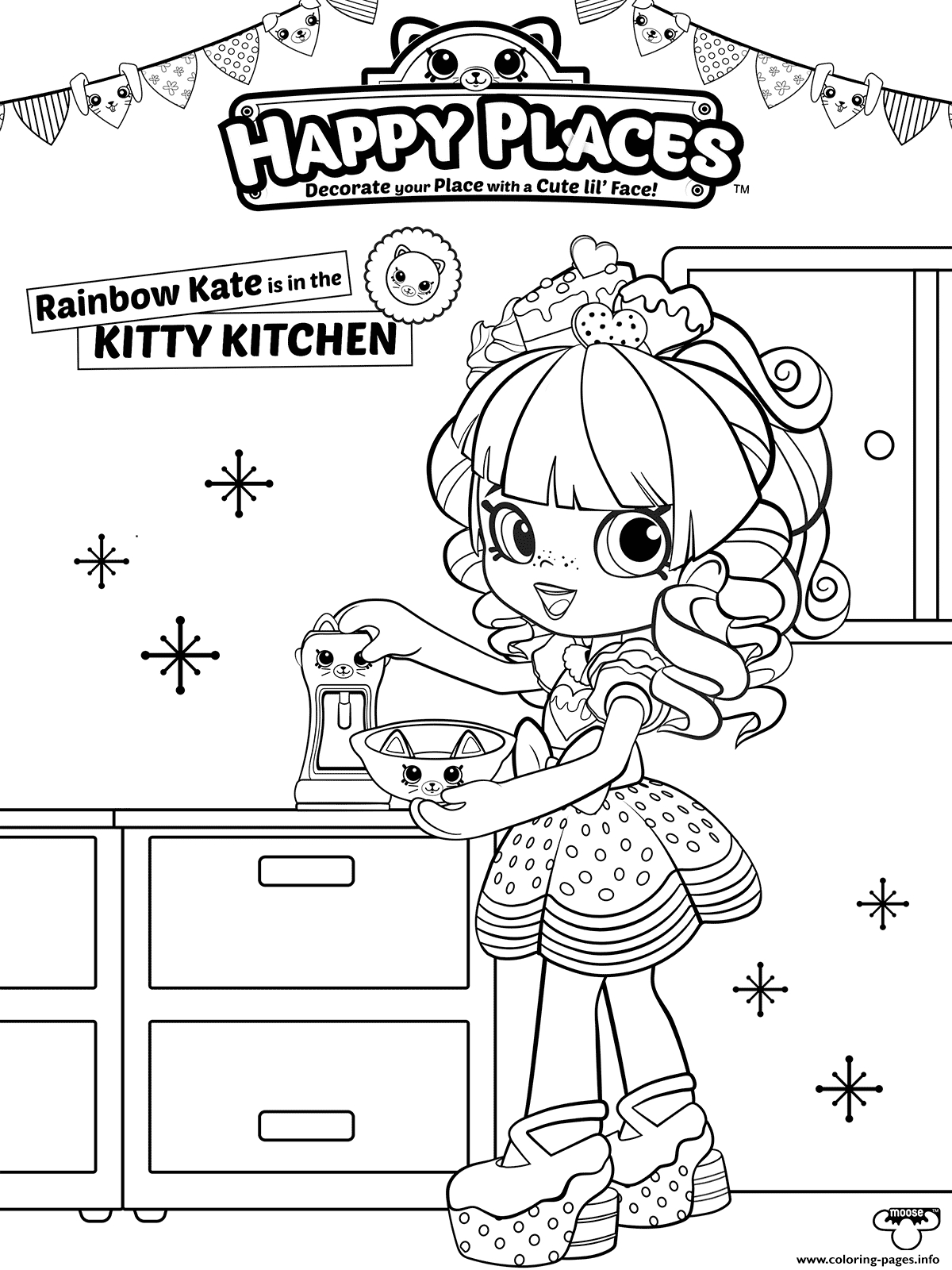 minecraft printable coloring pages - shopkins happy places printable coloring pages book