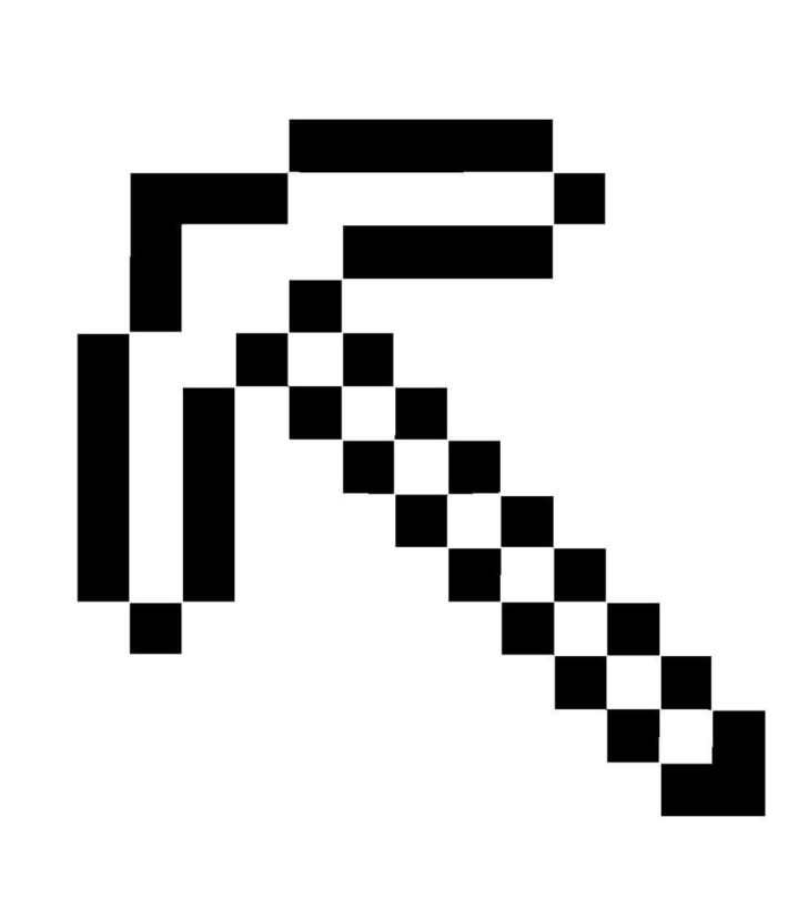 minecraft sword coloring pages - minecraft coloring pages sword