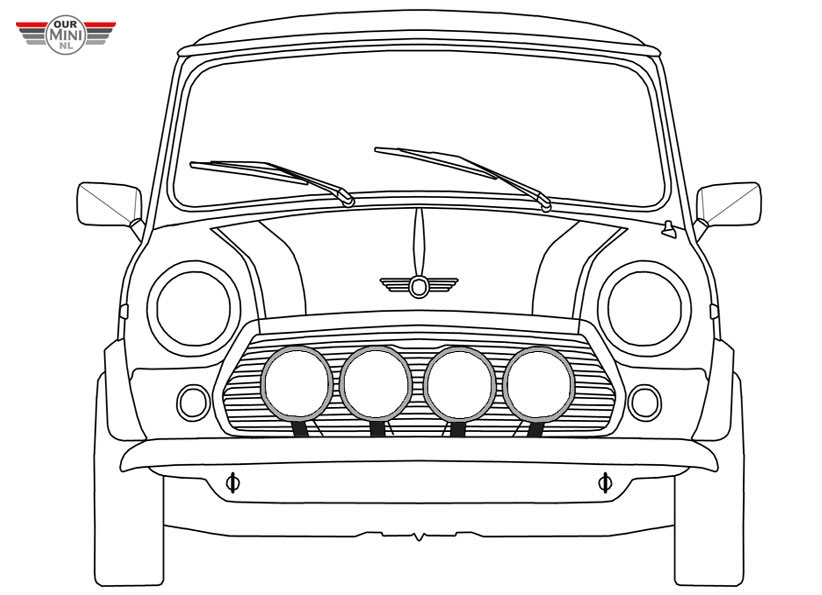 28 mini coloring pages collections