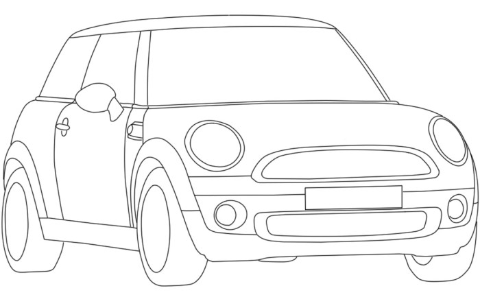 mini coloring pages -