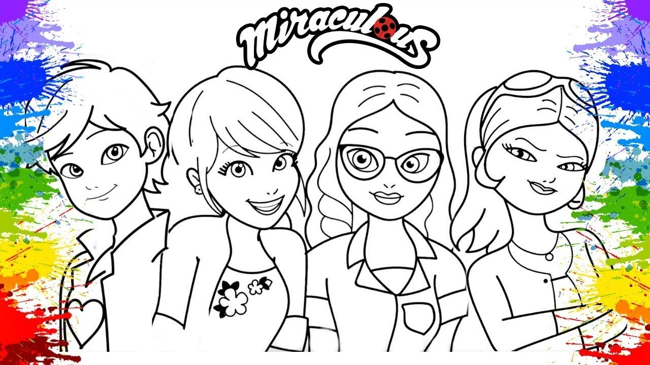 miraculous coloring pages - watch v=nGKohxp3qsE