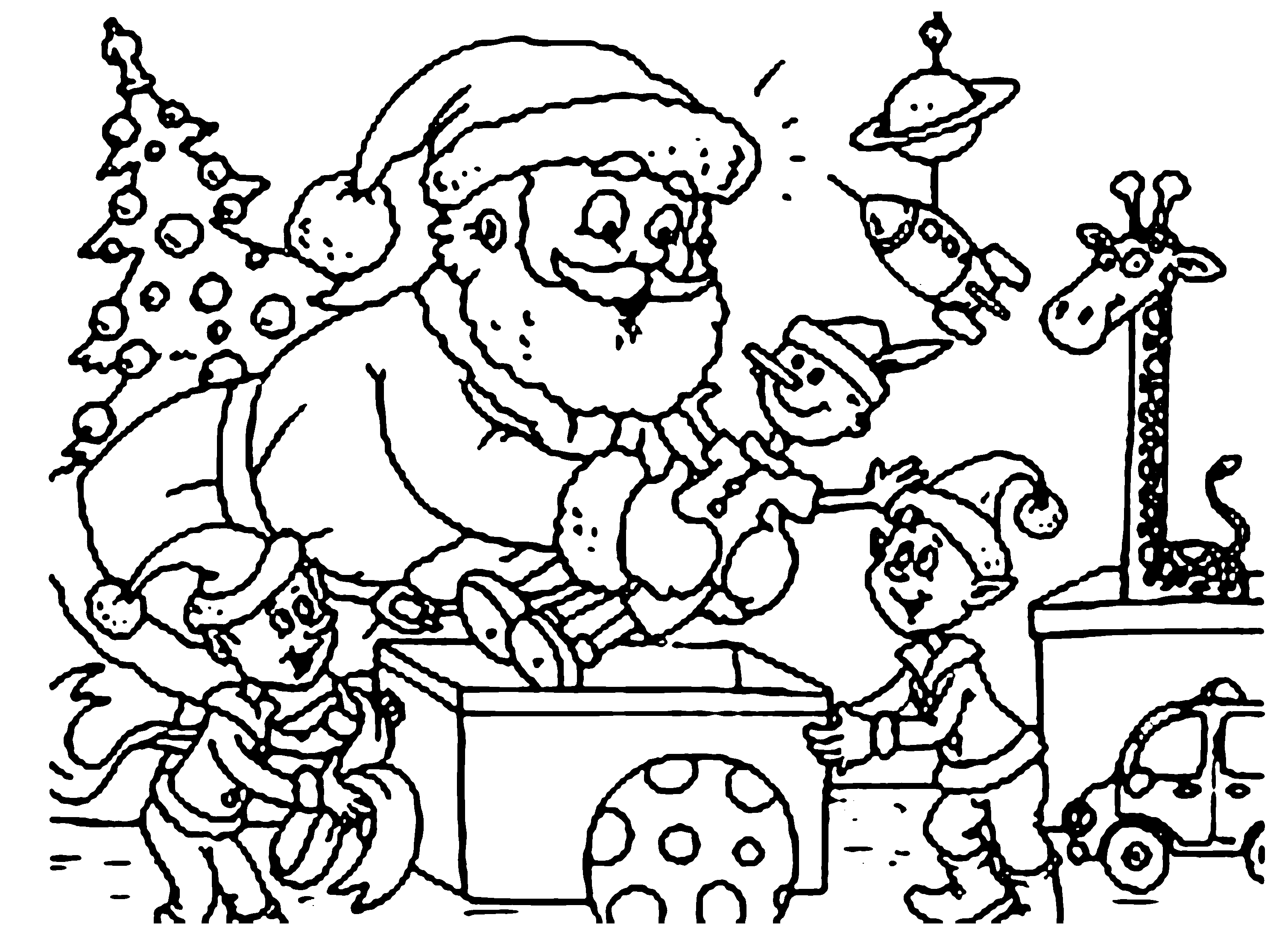 mistletoe coloring pages - christmas coloring printable pages