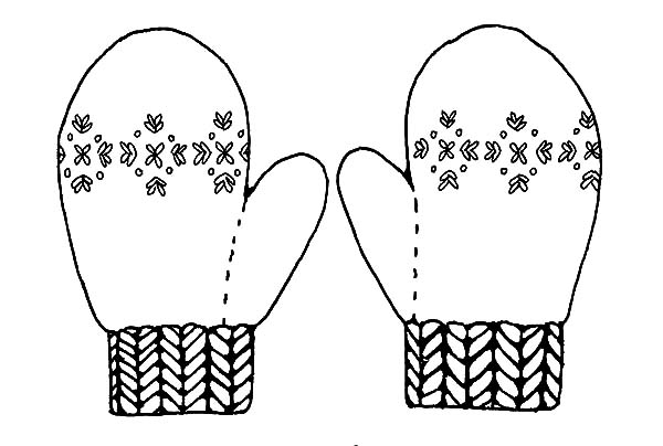 mitten coloring page - q=call of call of duty