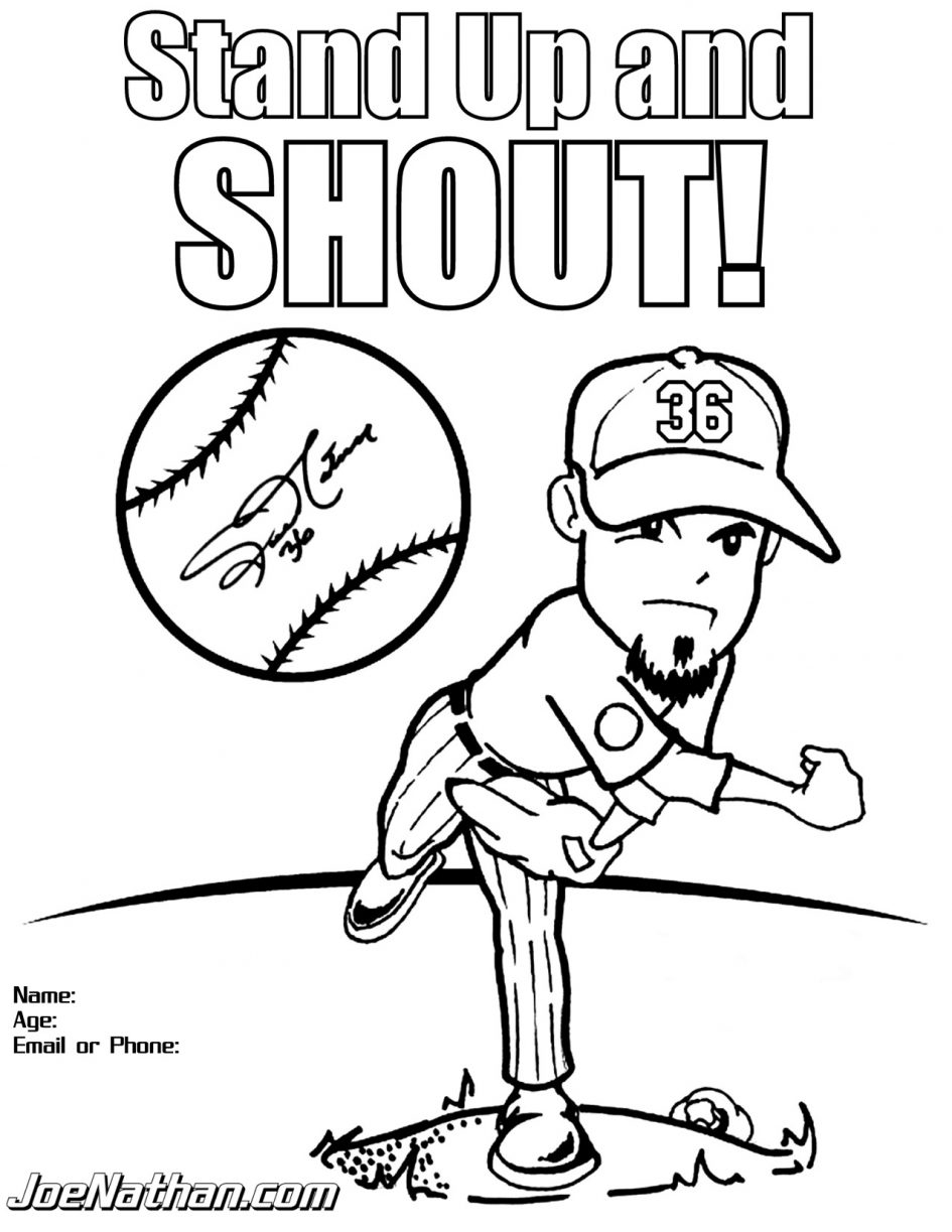 Mlb Coloring Pages - Download Coloring Pages Mlb Coloring Pages Mlb Baseball
