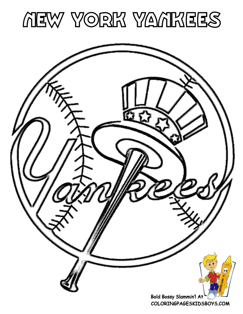 mlb coloring pages - mlb coloring pages