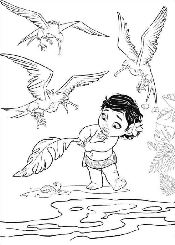 moana free coloring pages - moana coloring pages