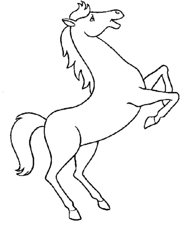 moana printable coloring pages - horse printables
