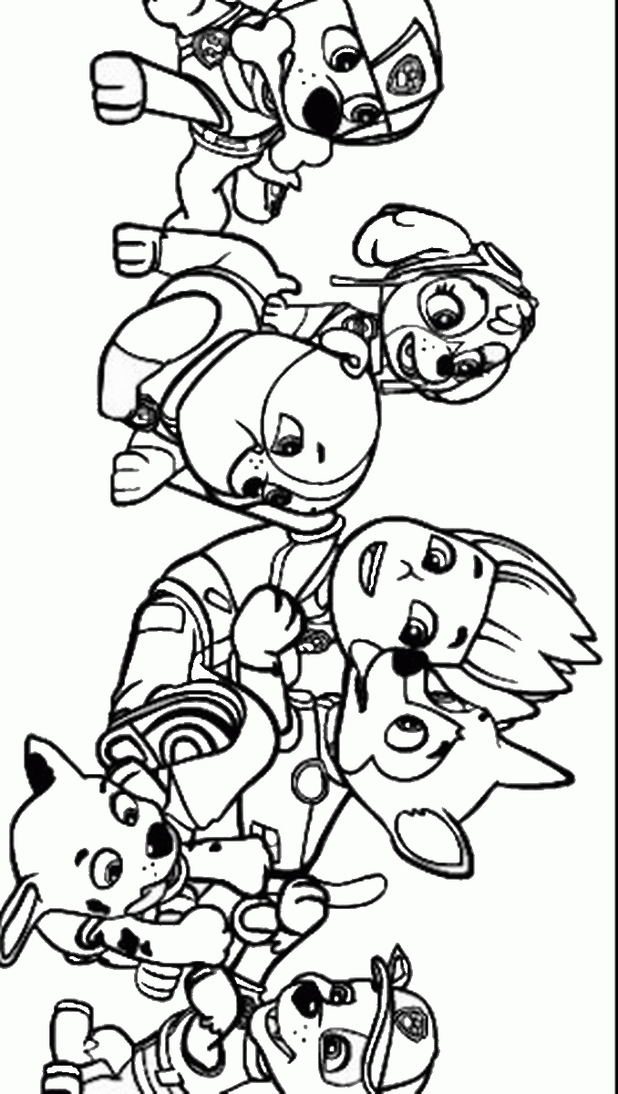 moana printable coloring pages - skye paw patrol coloring page