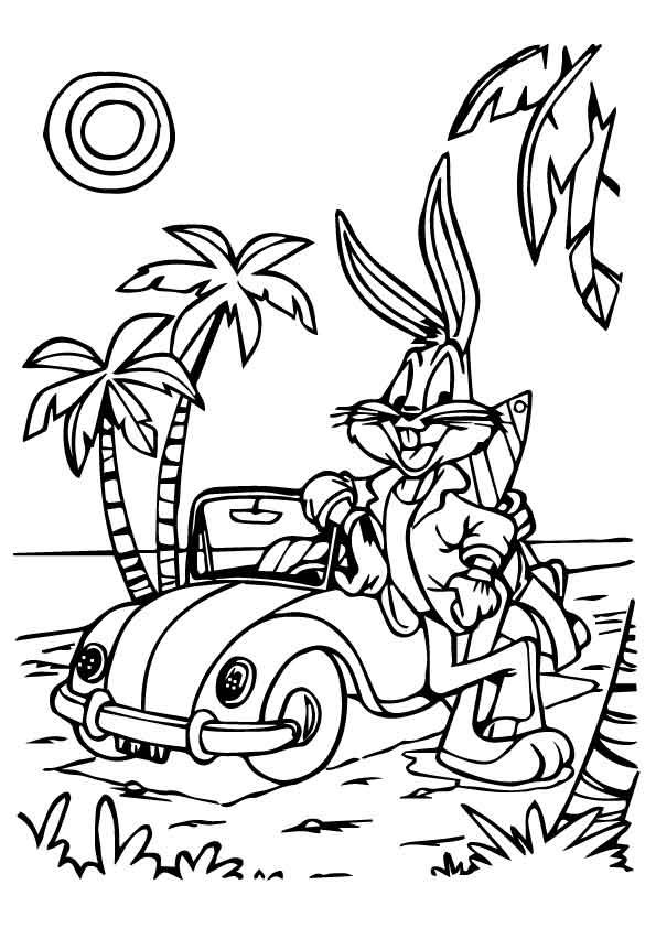 momjunction coloring pages - coloring looney tunes