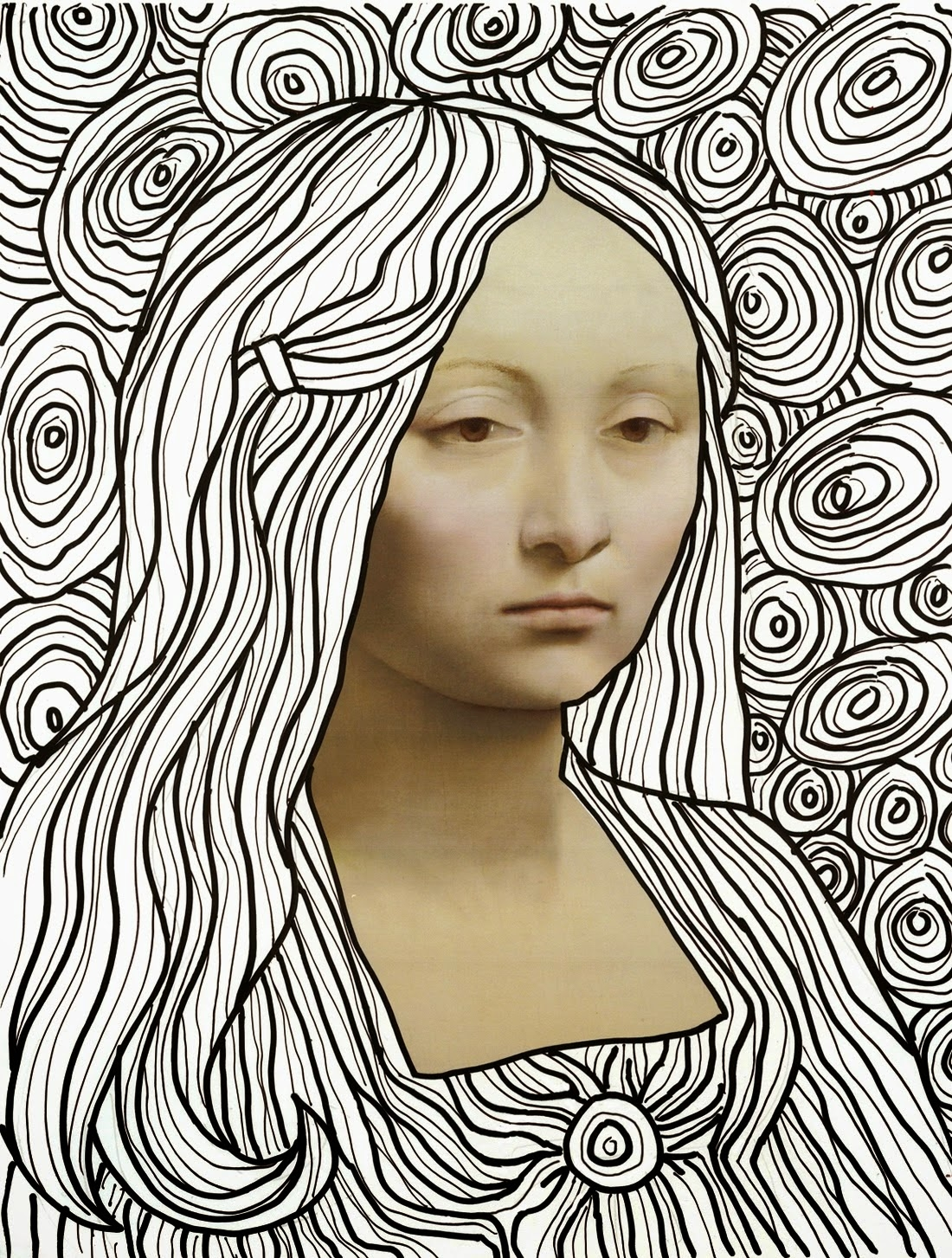 23 Mona Lisa Coloring Page Pictures | FREE COLORING PAGES ...
