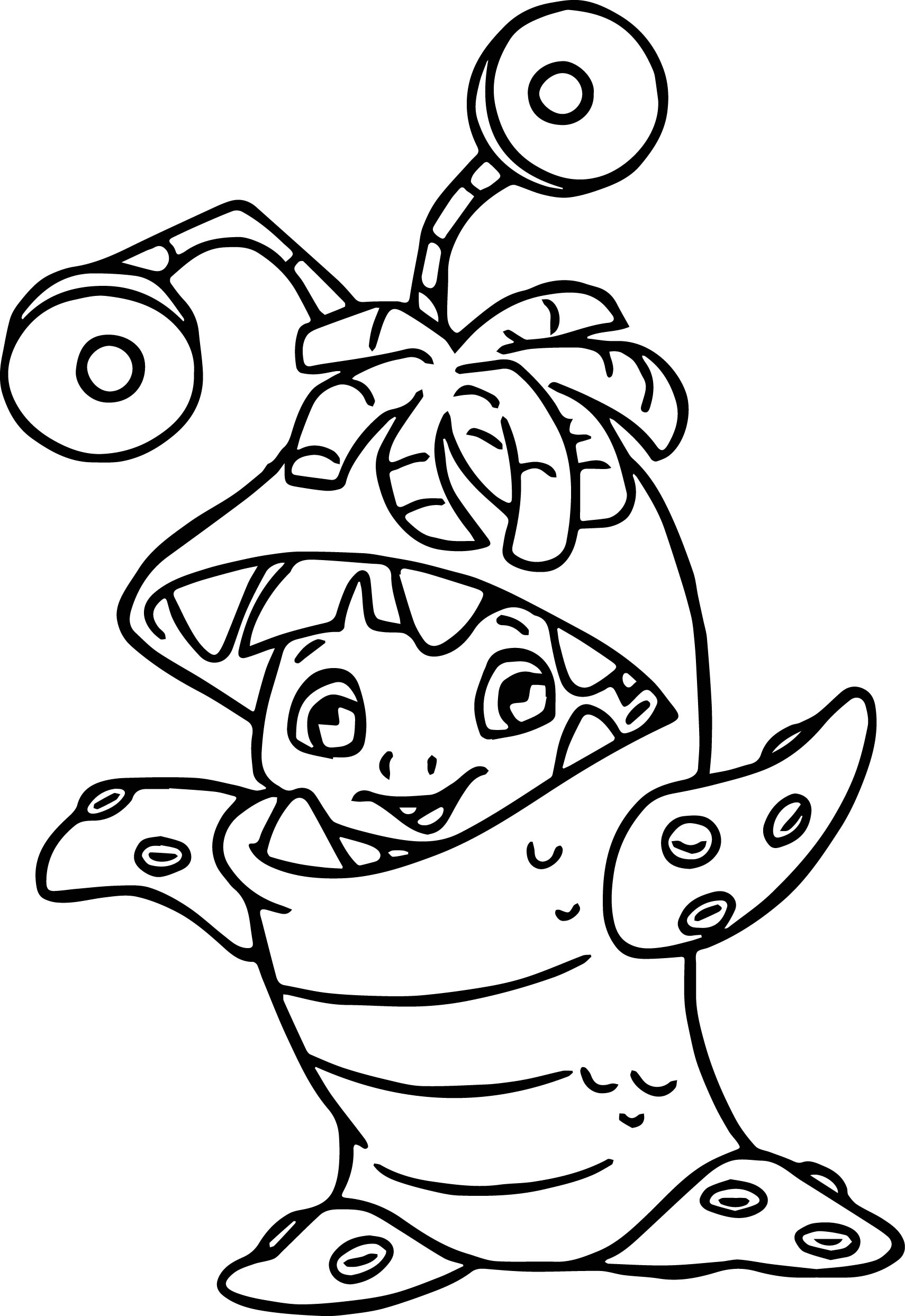 monsters inc coloring pages - disney monsters inc coloring pages