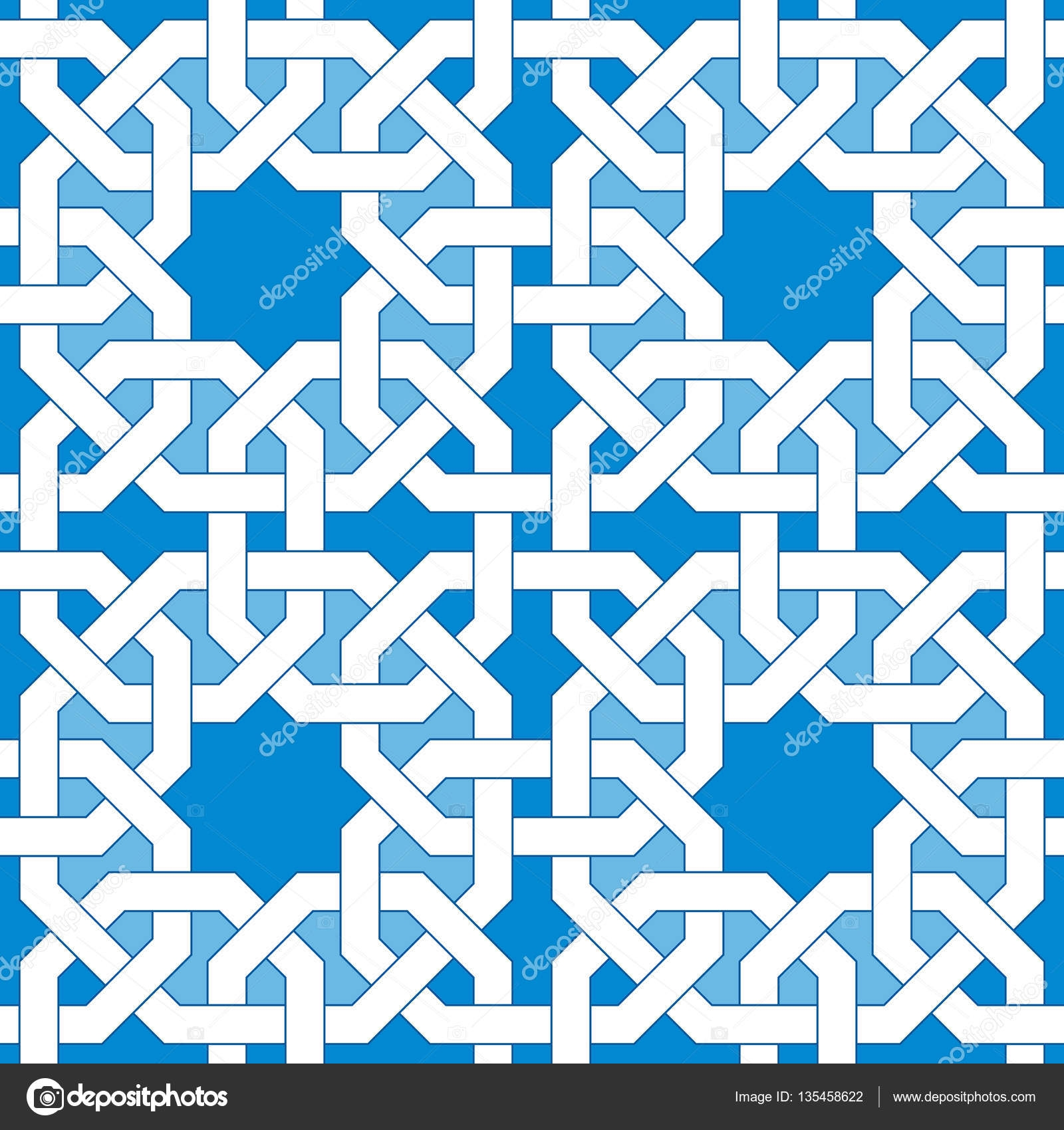 mosaic coloring pages - stock illustration islamic geometric pattern turkish ornament