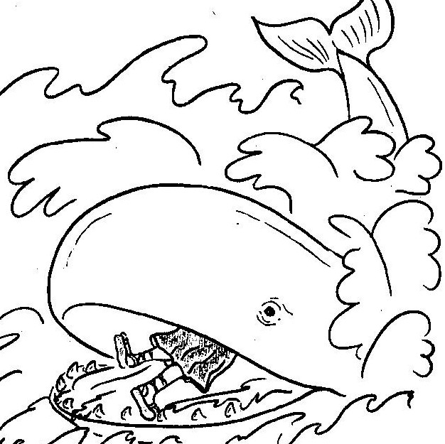 moses coloring pages - malarbilder