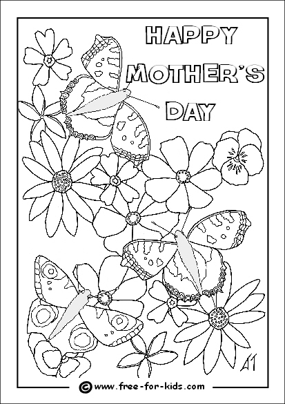 mother's day printable coloring pages - mother day coloring pages printables