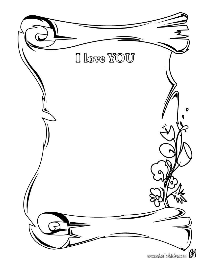 mother's day printable coloring pages - mothers day certificates coloring pages i love you