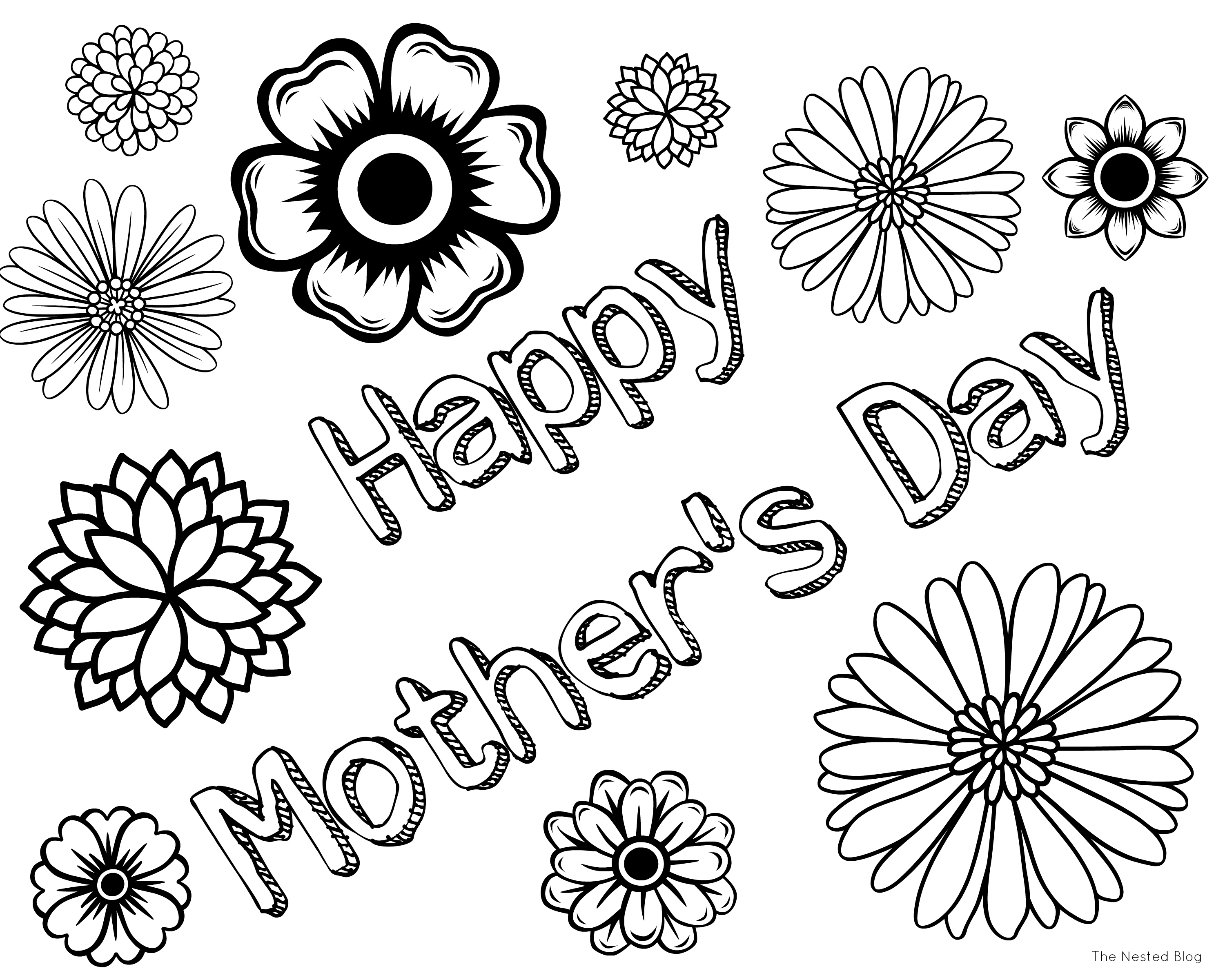 mothers day coloring pages - r=mothers day cards