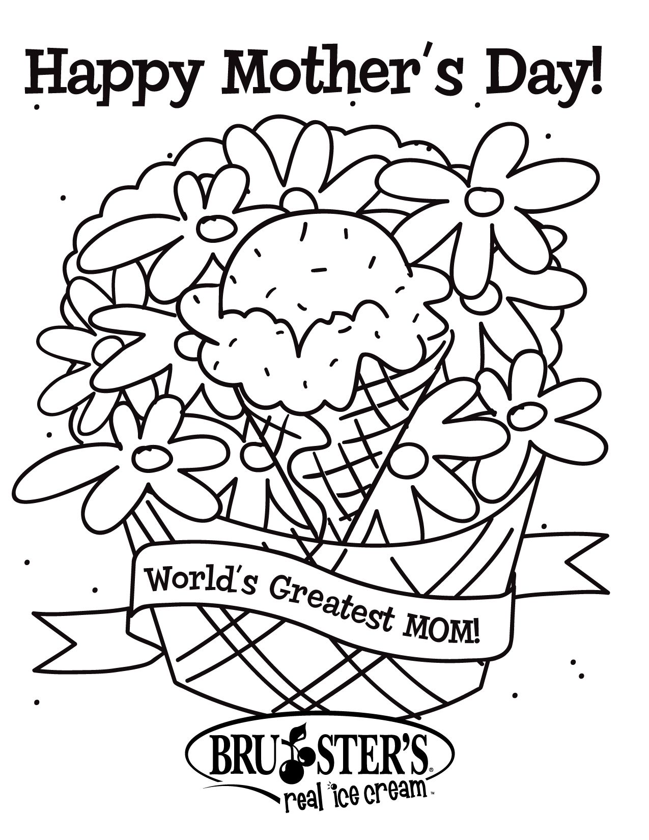 Mothers Day Coloring Pages - Free Printable Mothers Day Coloring Pages for Kids