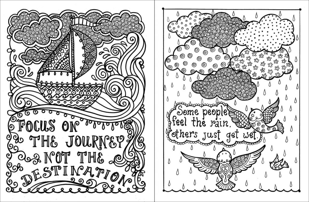 motivational coloring pages - q=inspirational quotes