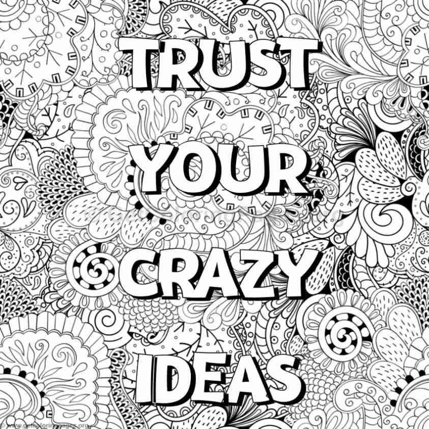 24 Motivational Coloring Pages Selection | FREE COLORING PAGES - Part 3