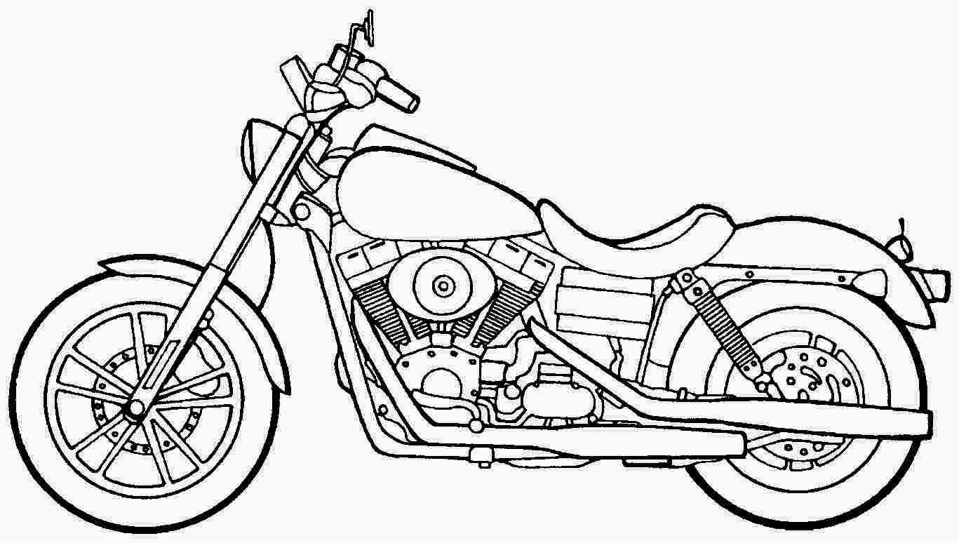 21 Motorcycle Coloring Pages Images | FREE COLORING PAGES - Part 3