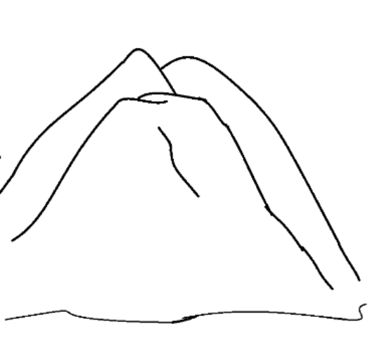 mountain coloring pages - coloring pages of mountains 3