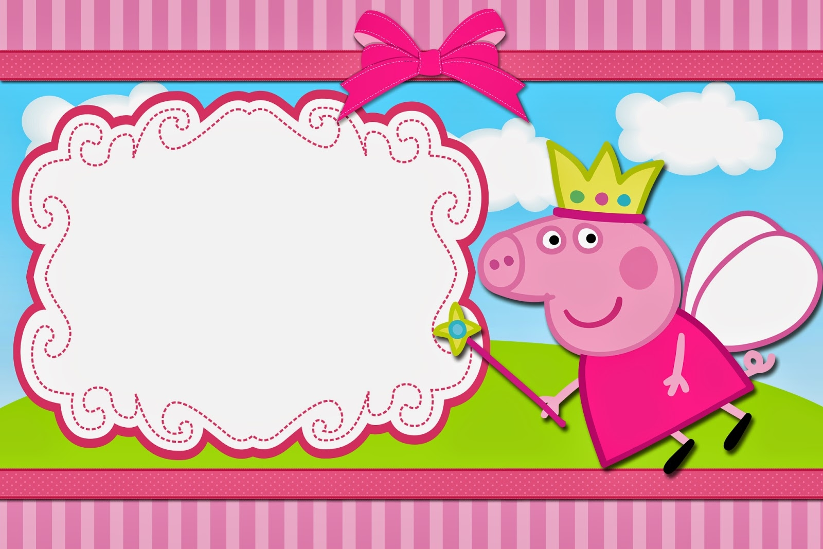 mouse coloring page - free peppa pig pictures to print