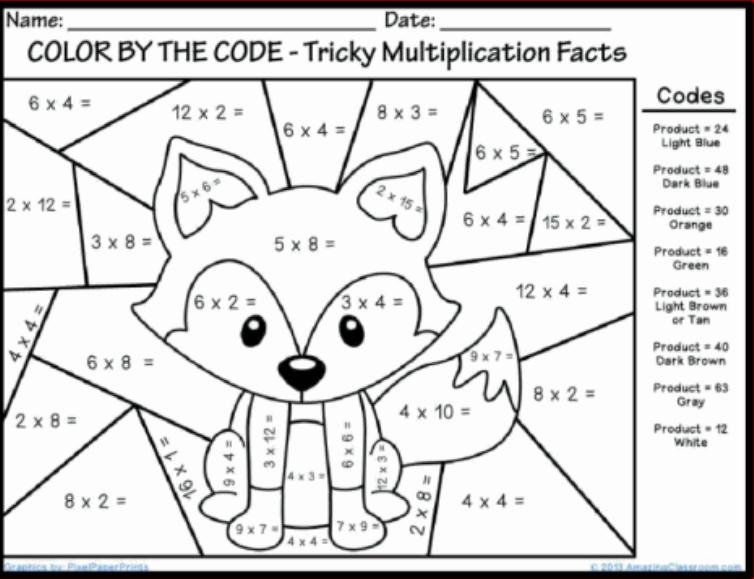 multiplication coloring pages - math multiplication coloring sheets sketch templates