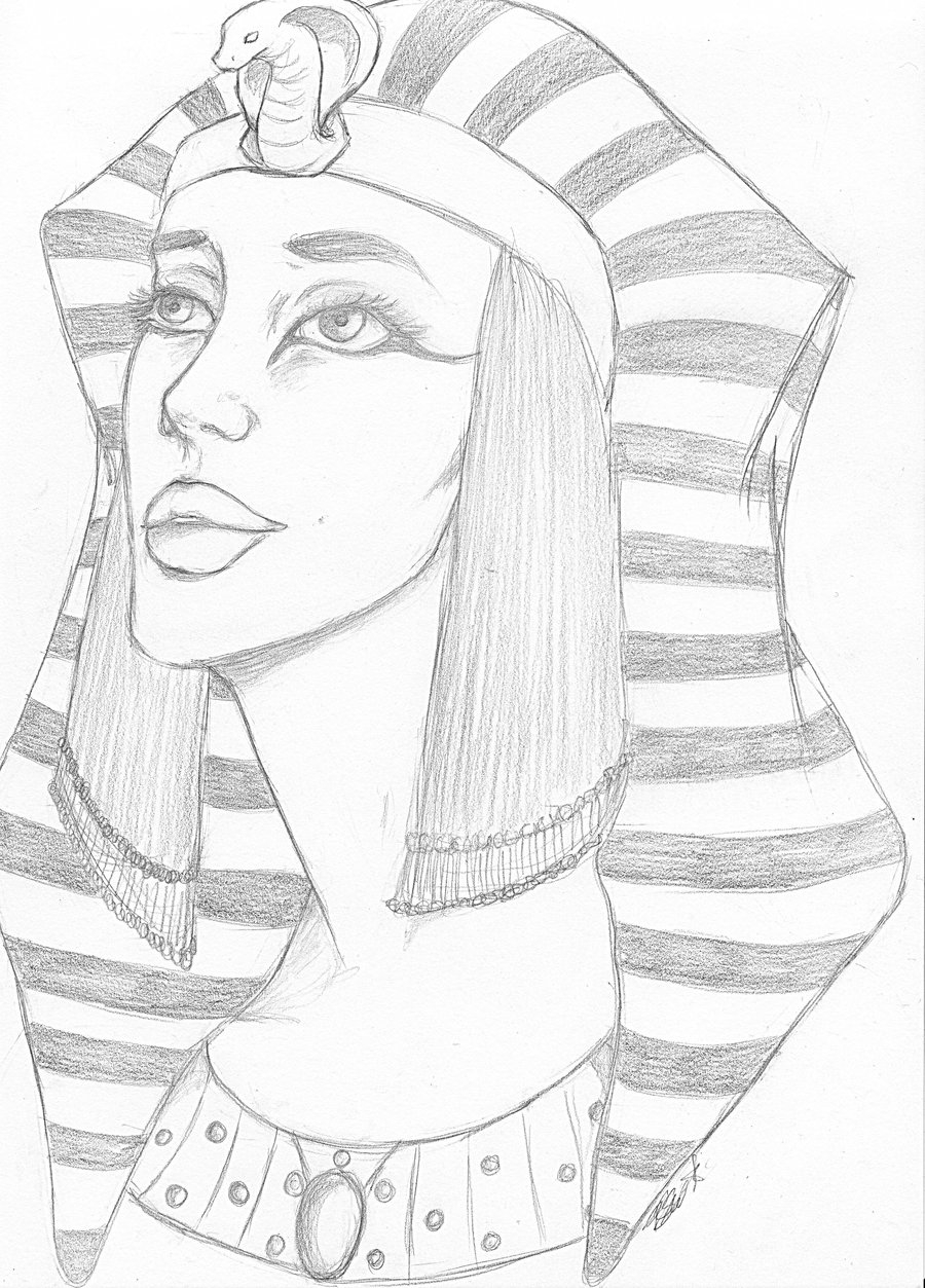mummy coloring page - Hatshepsut