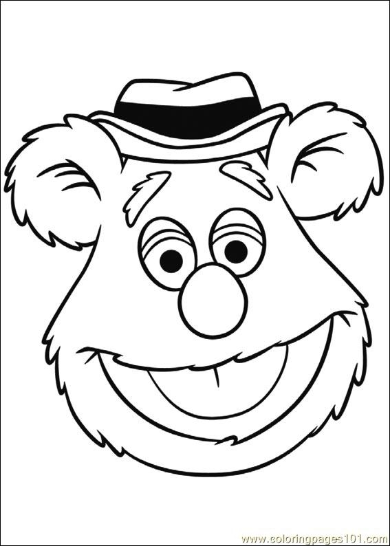 muppets coloring pages - muppets 04