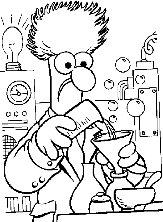 muppets coloring pages - muppets coloring pages